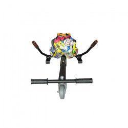 TAAGWAY Kit Kart A4 pour Gyropode 6,5`, 8` et 10` Jaune