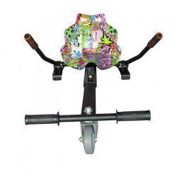 TAAGWAY Kit Kart A4 pour Gyropode 6,5`, 8` et 10` Mauve