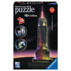 RAVENSBURGER Puzzle 3D Empire State Building Night Edition 216p