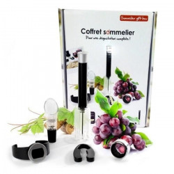 YOKO DESIGN Coffret Sommelier 5 Pieces d`oenologie