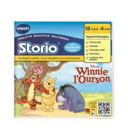 VTECH - Jeu Éducatif Storio 2 - Winnie l`Ourson