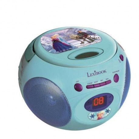 la reine des neiges lecteur radio cd enfant. Black Bedroom Furniture Sets. Home Design Ideas