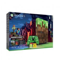 Xbox One S 1To Minecraft Limitée