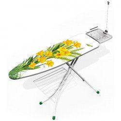 GIMI Table à repasser 122 x 38 cm - Prestige