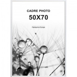 ALTANA Cadre photo 50x70 cm Blanc mat