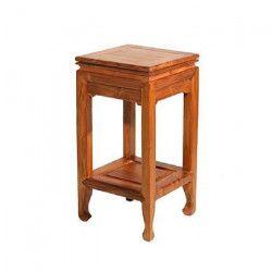 BISHO Table d`appoint Sellette - L 30 x H 67 cm