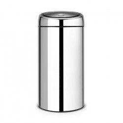 BRABANTIA Poubelle Touch Bin 45 L gris brillant