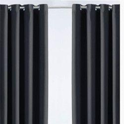 TODAY Paire de rideaux isolant - 140x240 cm - Canon de Fusil