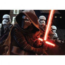 STAR WARS Toile imprimée Kylo ren stormtrooper 80x60 cm noir