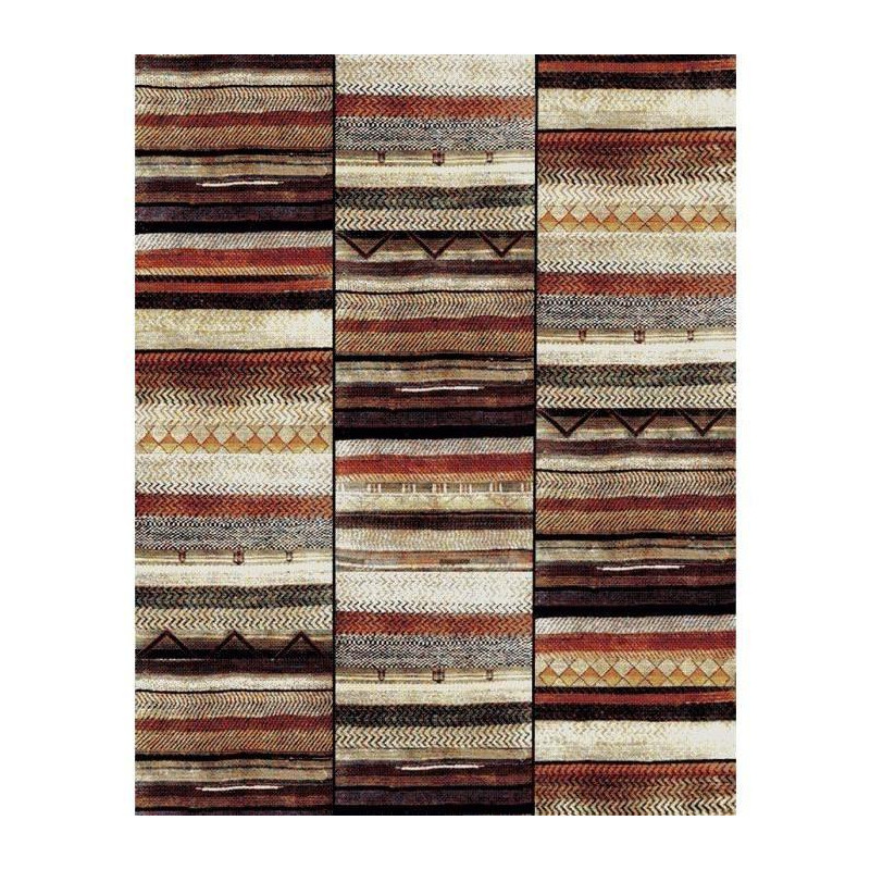 marokko tapis de salon 80x150 cm beige et marron. Black Bedroom Furniture Sets. Home Design Ideas