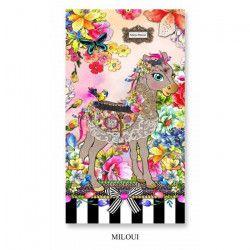 MELLI MELLO Drap de plage Coton Miloui - 75x150cm - Multicolore