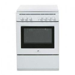 CONTINENTAL EDISON CECM6060MW2 Cuisiniere table mixte gaz / électrique-4 foyers-Four