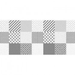 CORYL Nappe MATISSE - Ø 160 cm - Noir & blanc