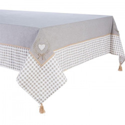 DEKOANDCO Nappe rectangulaire Catherinette - 150x250 - Brodée