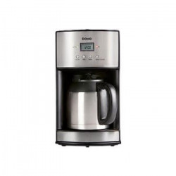 DOMO DO474K Cafetiere filtre avec verseuse isotherme ? Inox