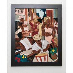 FAREL Image encadrée Cayo coco café - Multicolore