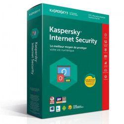 KASPERSKY Internet Security 2018 - 3 Postes / 1 An