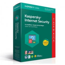 KASPERSKY Internet Security 2018 - 5 Postes / 1 An