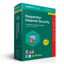 KASPERSKY Internet Security 2018 - 3 Postes / 1 An Mise a jour