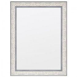 FAVERO Miroir 60x90 cm - Blanc cérusé