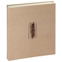 PANODIA Album photo traditionnel Neroli - 100 pages - 30 x 30 cm - Beige