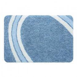 SPIRELLA Tapis de bain CURVE 70x120 cm - Bleu