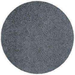 SPIRELLA Tapis de bain HIGHLAND rond 60 cm - Gris granit