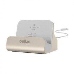 BELKIN Station d`accueil charge et syncro avec connecteur lightning - Or