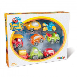 SMOBY Vroom Planet Coffret Collector 7 Voitures