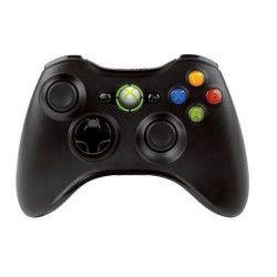 Manette PC et Xbox 360 sans fil Microsoft Noire
