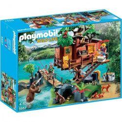 PLAYMOBIL 5557 - Wild Life - Cabane des aventuriers dans les arbres