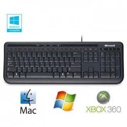 Microsoft Clavier Wired Keyboard 600 Noir