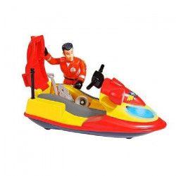 SAM LE POMPIER Smoby Océan Jet Ski Junon + Sam