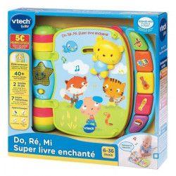 VTECH BABY - Do, Ré, Mi super livre enchanté bleu