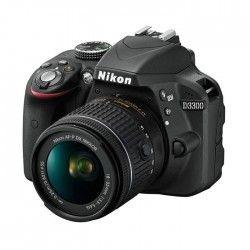 NIKON D3300 Noir + AF-P 18-55VR Appareil photo numérique reflex avec objectif