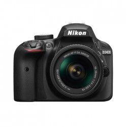 NIKON D3400 - Reflex numérique - Grand capteur DX de 24,2Mp - Vidéo Full HD - Bluetooth - Noir