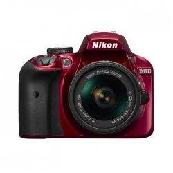 NIKON D3400 - Reflex numérique - Grand capteur DX de 24,2Mp - Vidéo Full HD - Bluetooth - Rouge