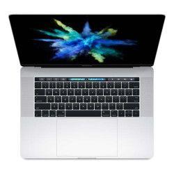 Apple MacBook Pro 15.4` Retina avec Touch Bar 256 Go SSD 16 Go RAM Intel Core i7 quadricœur à 2.6 GHz Argent