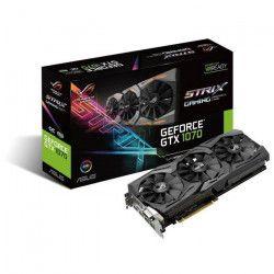 Asus Carte graphique GeForce GTX 1070 STRIX 8G GAMING 8Go GDDR5