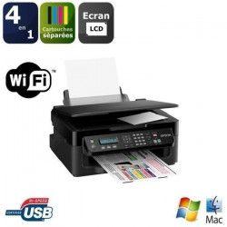 EPSON Imprimante Multifonction 4-en-1 - Couleur - Jet d`encre - WF-2510WF Wifi
