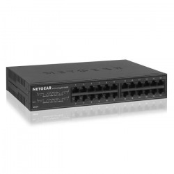NETGEAR Switch 24 Ports Gigabit Ethernet Métal GS324-100EUS