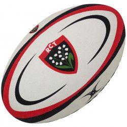 GILBERT Ballon de rugby REPLICA - Toulon - Taille 5