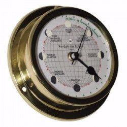 ALTITUDE Horloge lunaire - Laiton - ø 127 mm