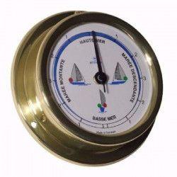 ALTITUDE Indicateur de marée avec feux de navigation - Laiton - ø 127 mm