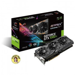 Asus Carte graphique GeForce GTX 1080 Ti STRIX-GTX1080TI-O11G-GAMING - 11Go GDDR5X