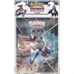 POKEMON - Soleil et Lune 5 - Pack Cahier Range-Cartes + Booster Pokémon SL05