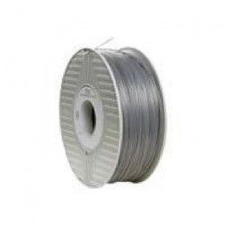 VERBATIM Cartouche de filament ABS - 1,75 mm - Argent / Gris métal- 1 Kg