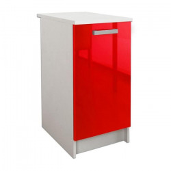 START Caisson bas de cuisine L 40 cm - Rouge brillant