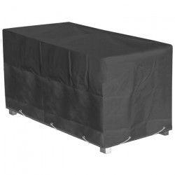 GREEN CLUB Housse de protection pour table de jardin 180x112x65cm - Gris anthracite
