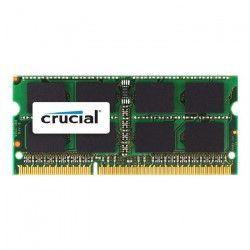 CRUCIAL Mémoire PC Mac - DDR3 - 8GB - 1600 - SODIMM